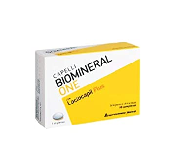Biomineral one Lactocapil cabellos 30 cpr: Amazon.es: Salud ...