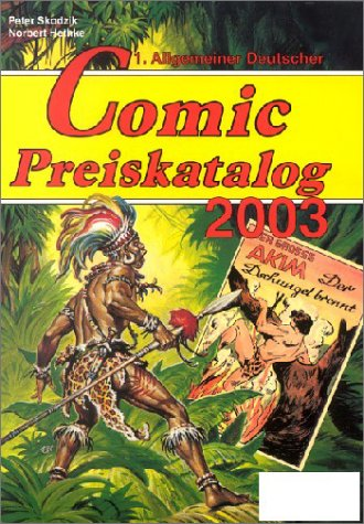 Allgemeiner Deutscher Comic-Preiskatalog 2003