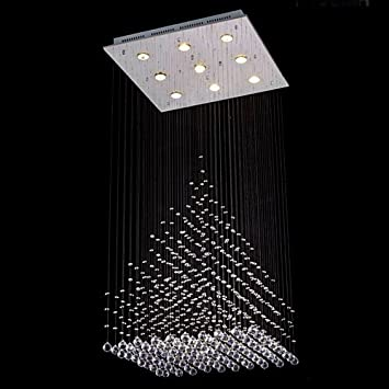Modern contemporary chandelier rain drop chandeliers lighting with