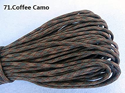 HSDOUBLE 100ft 550 Paracord Parachute Cord Lanyard Mil Spec Type III 7 Strand Core