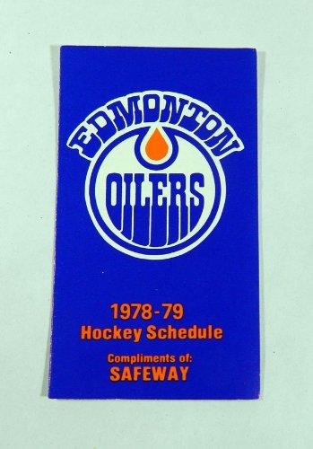 1978-79-edmonton-oilers-safeway-nhl-hockey-pocket-schedule