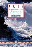 Acts, Phyllis J. Le Peau, 0830810072