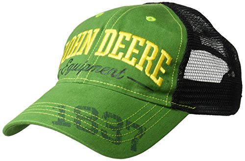 John Deere Boys Baseball Cap, Green/Black, Youth Ages 5 to 12