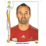 FIFA World Cup 2014 Andres Iniesta Sticker No.119