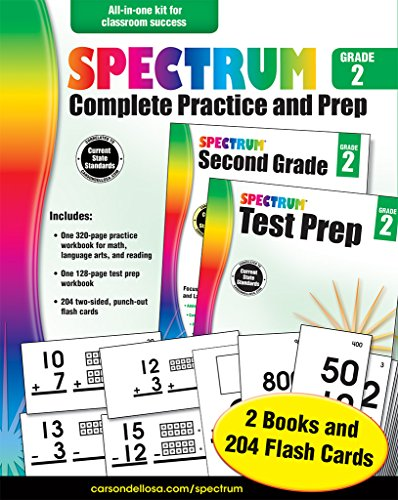 Spectrum Complete Practice and Prep, Grade 2