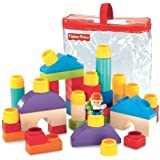 Fisher-Price Little People Builders Classic Shapes Blocks Children, Kids, Game