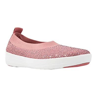 8ff01dc14 Fitflop Women s Überknit Tm Slip-on Ballerina Slip On Trainers ...