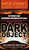 Dark Object, Don Ledger and Chris Styles, 0440236479