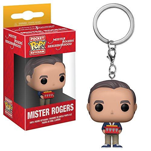 Funko POP! Keychain: TV Mr Rogers Collectible Figure, Multicolor