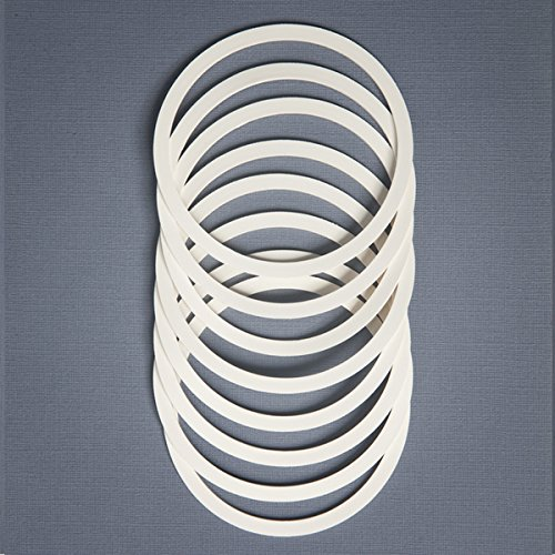 ReCAP Rubber Gaskets, Set of 8, Regular Mouth