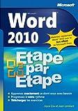 Word 2010 - Étape par Étape