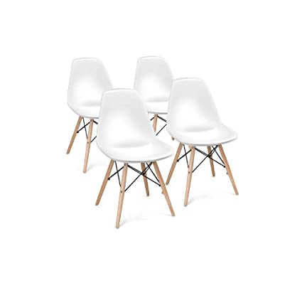 Awe Inspiring Amazon Com Daisy Days 4 Set Modern Dining Side Chair With Uwap Interior Chair Design Uwaporg