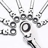 labwork 12pcs 8-19mm Flex Head Ratcheting Wrench