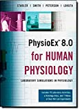 img - for PhysioEx 8.0 for Human Physiology: Lab Simulations in Physiology by Timothy Stabler (2008-02-25) book / textbook / text book