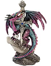 Design Toscano QS92707 Dragon Blade Statue, Full Color