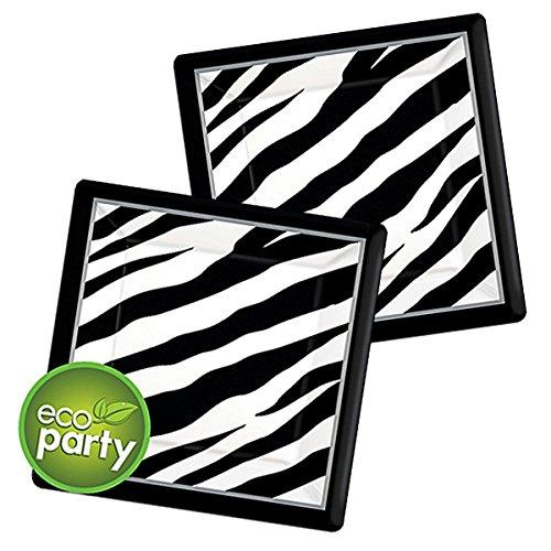 zebra table ware - 2