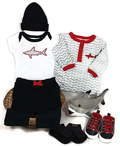 shark baby onesie - 7