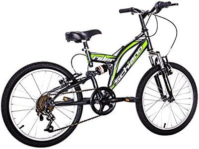 Bicicleta Rider 20 biammortizzata 6 V. F. lli Schiano, Antracite ...