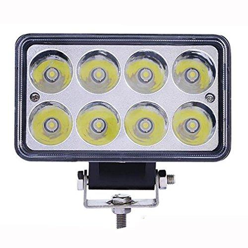 ZHAS Luces de trabajo de led de 24W de los faros de los coches Coches Alquiler de proyectores de luces de trabajo de...