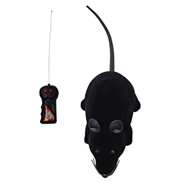 Katzen Elektrische Drahtlose Fernbedienung RC Ratte Maus Spielzeug Haustier Katzen Haustierbedarf