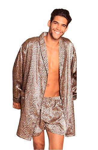 Lovely Day Lingerie Men's Robe Set Animal Print S/M