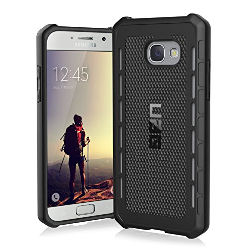 URBAN ARMOR GEAR UAG Designed for Samsung Galaxy A5 (2017) Outback Feather-Light Rugged [Black] Military Drop Tested Phone Case