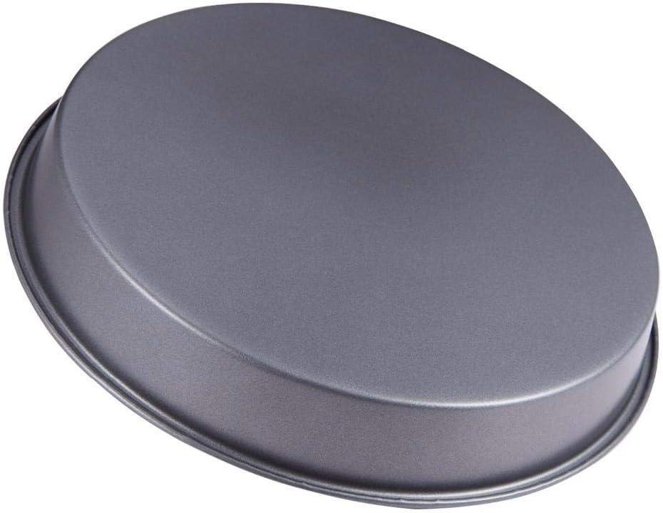 Baking Molde de Silicona Molde de Pizza Antiadherente de 8 Pulgadas Recipientes para Hornear de Acero de Alta Resistencia Recipientes para Microondas Horno para Hornear Herramientas para Hornear Herr