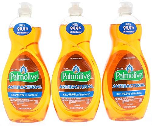 3 Pk. Palmolive Ultra Liquid Antibacterial Dish Soap 20 Fl. Oz (60 Fl. Oz - Antibacterial Ultra Palmolive Colgate