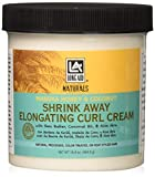 Long Aid Naturals Shrink Away Elongating Curl Cream, 16.39 Ounce