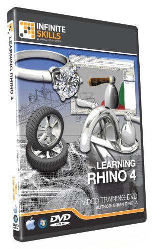 Rhino 4 Training DVD - Tutorial Video. Learning Made Easy - Over 9 hours of high quality video tutorials by Infiniteskills