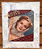 ''Bygone Eras'' Mixed Media Collage Movie star Hollywood Glamour