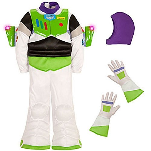 DISNEY STORE TOY STORY BUZZ LIGHTYEAR LIGHT UP COSTUME - KIDS (13) (Disney Buzz Lightyear Costume)