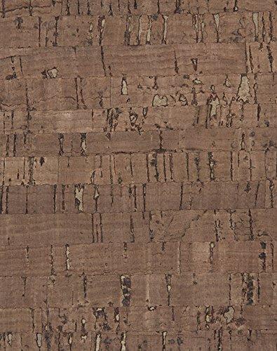 WallCork QCL490622 Quercus Coffee Linear Cork Wallpaper