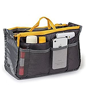 Go Beyond (TM) Travel Insert Organizer Compartment Bag Handbag Large Liner Tote