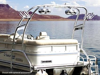 Pontoon Boat Ski Tow Bar >> Amazon Com Wakeworks F250 Pontoon Wakeboard Tower
