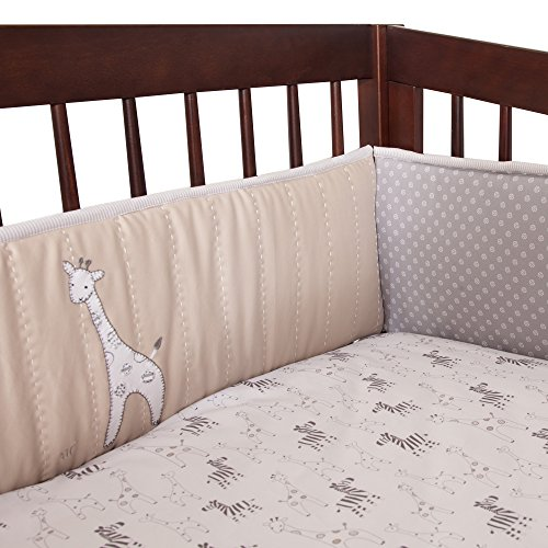 lambs and ivy baby bedding bumper - 8