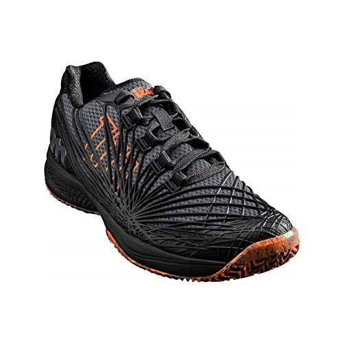Shocking ebony Nero Tennis Orange Uomo Black Scarpe Kaos Da 000 Wilson 0 2