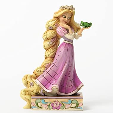 Disney Traditions by Jim Shore Rapunzel and Pascal Figurine  Loyalty and Love  (4037514)