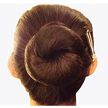 Brown Perfect for bun for dancing events pack of 3 fine mesh hair net gym