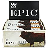 Epic All Natural Meat Bar, 100% Grass Fed, Beef, Habanero & Cherry, 1.5 ounce bar, 12 count