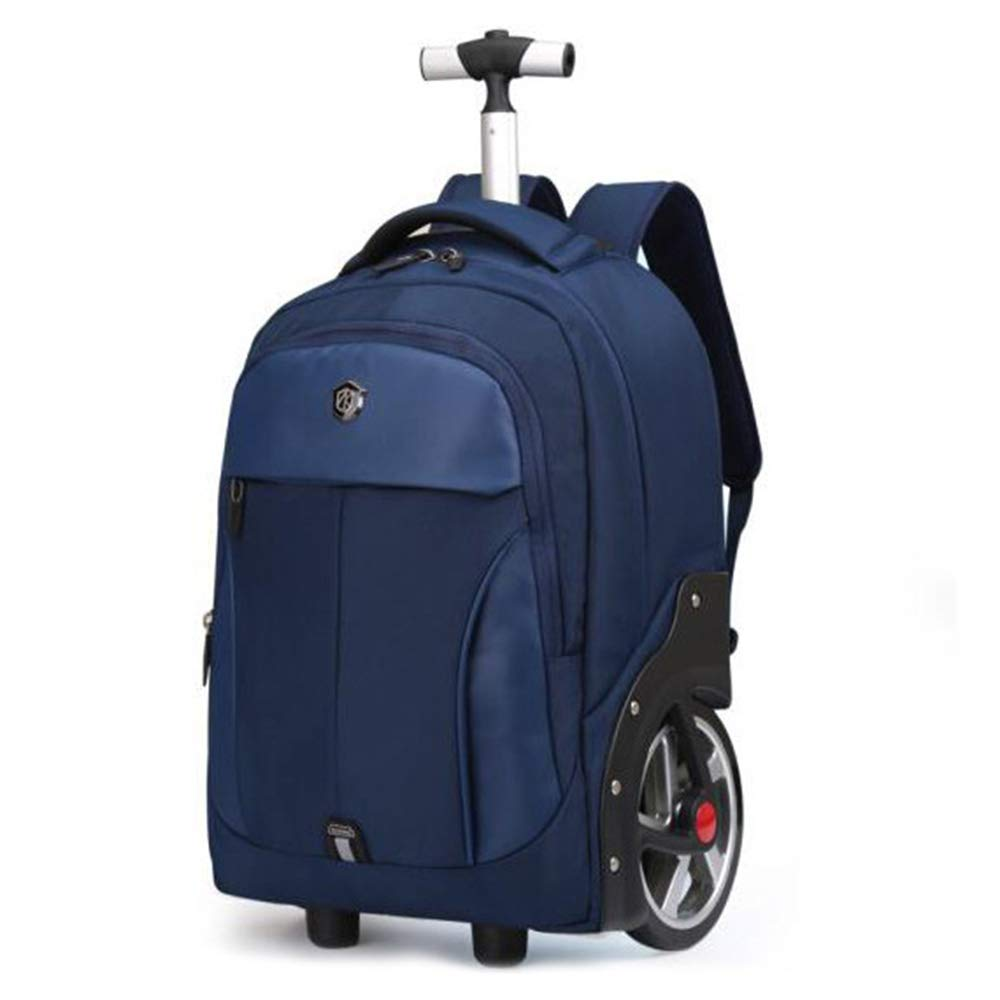 動かされる旅行のバックパックのラップトップおよびコンパートメント、良質の設計、上部の Zip 形式のメインコンパートメント、適合18-20 インチのラップトップ 20inches Blue B07R1H5TC4