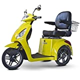 E-Wheels EW-36 3-Wheel Electric Senior Mobility Scooter - Yellow by Electric Wheels LLC