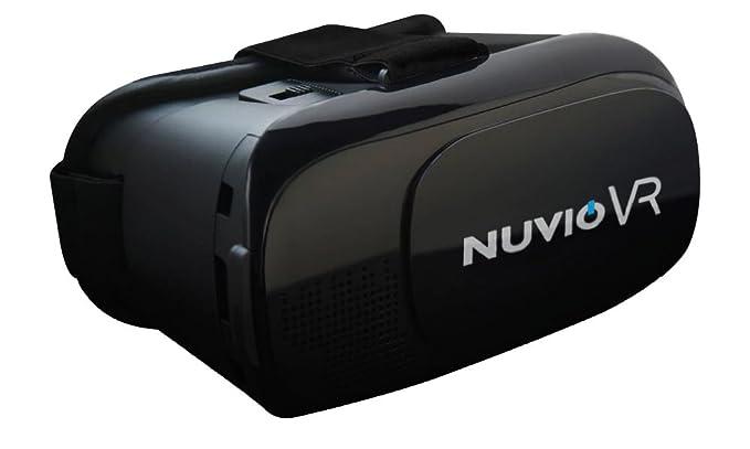 31e7a389e Nuvio 3D VR Headset Glasses Virtual Reality Boxes with: Amazon.co.uk:  Electronics