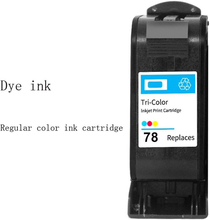 Cartucho de tinta 78XL 45XL, para máquinas de confección HP plotters CAD Impresora 51645A 1180C 1280-Tricolor: Amazon.es: Oficina y papelería
