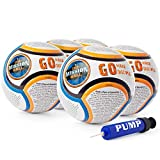 The Mission Ball (English Soccer Ball - Biblical Gospel Sharing Tool Using The World's Most Popular Sport to Explain Christ - Perfect for Mission Trips, Shoeboxes, VBS, and Gifts (5 Pack)