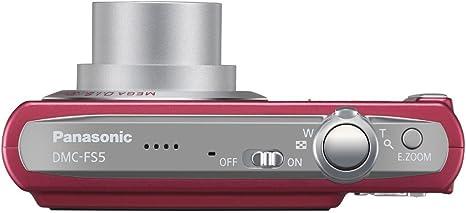 Panasonic Dmc Fs5eg R Digitalkamera 2 5 Zoll Rubinrot Kamera