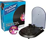 ClearClick Vinyl To USB Converter with LP2CD Wizard 2.0 Software (Free USA Tech Support)