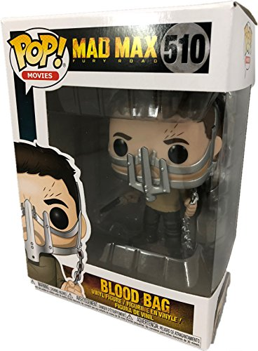 Funko - Mad Fury Road-Blood Bag (MAX W/Cage Mask) Figura Multicolor, 28