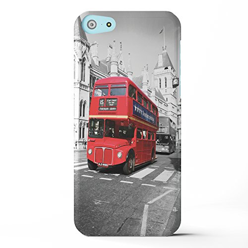 Koveru Back Cover Case for Apple iPhone 5C - The Double Decker Bus