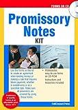 Promissory Notes Kit, Self-Counsel Press Staff, 1551807777